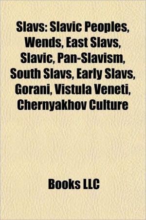 Slavs: South Slavs