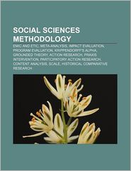 Social Sciences Methodology - Books Llc