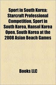 Sport In South Korea - Books Llc