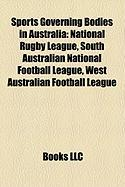 Sports Governing Bodies in Australia: Australian Football League