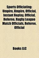 Sports Officiating: Umpire