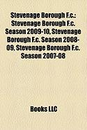 Stevenage Borough F.C.: Stevenage Borough F.C. Season 2009-10