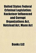 United States Federal Criminal Legislation: Sarbanes-Oxley ACT