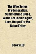 The Who Songs: My Generation