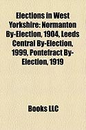 Elections in West Yorkshire: Normanton By-Election, 1904