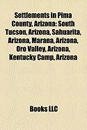 Settlements in Pima County, Arizona: Oro Valley, Arizona