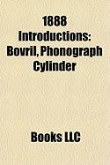 1888 Introductions: Phonograph Cylinder