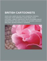 British Cartoonists - Books Llc