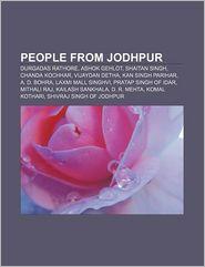 People From Jodhpur - Books Llc