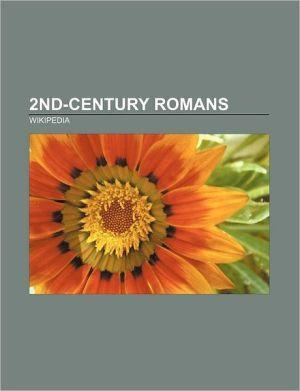 2nd-century Romans: Pliny the Younger, Galen, Irenaeus, Origen, Plutarch, Tertullian, Epictetus, Suetonius, Apuleius, Polycarp, Antinous