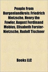 People From Burgenlandkreis - Books Llc