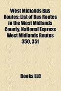 West Midlands Bus Routes: List of Bus Routes in the West Midlands County
