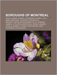 Boroughs Of Montreal