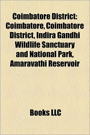 Coimbatore District - Books Llc