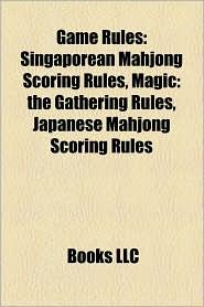 Game Rules - Books Llc