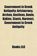 Government in Greek Antiquity: Archon