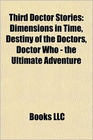 Third Doctor stories (Book Guide): Third Doctor audio plays, Third Doctor novels, Third Doctor serials, UNIT stories, Invasion of the Dinosaurs - Source: Wikipedia