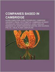 Companies Based In Cambridge - Books Llc