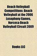 Beach Volleyball Competitions: Beach Volleyball at the 2006 Lusophony Games, Norceca Beach Volleyball Circuit 2009