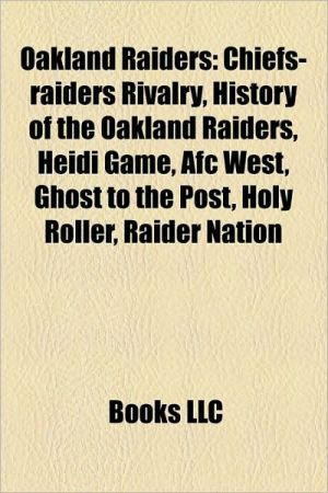 Oakland Raiders - Books Llc