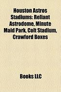 Houston Astros Stadiums: Reliant Astrodome, Minute Maid Park, Colt Stadium, Crawford Boxes