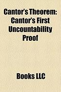 Cantor's Theorem: Cantor's First Uncountability Proof