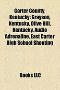 Carter County, Kentucky: Grayson, Kentucky, Olive Hill, Kentucky, Audio Adrenaline, East Carter High School Shooting