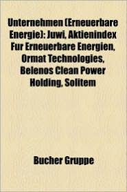 Unternehmen (Erneuerbare Energie) - B Cher Gruppe (Editor)