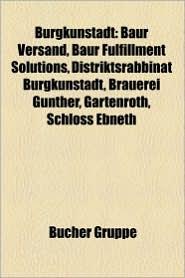 Burgkunstadt - B Cher Gruppe (Editor)