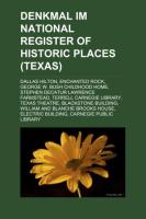 Denkmal Im National Register of Historic Places (Texas)
