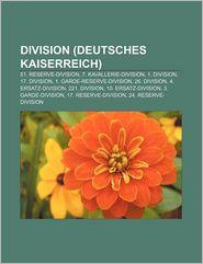 Division (Deutsches Kaiserreich) - B Cher Gruppe (Editor)