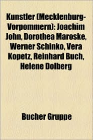 K Nstler (Mecklenburg-Vorpommern) - B Cher Gruppe (Editor)