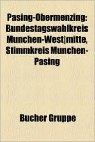 Pasing-Obermenzing: Obermenzing, Pasing, Bahnhof M Nchen-Pasing, Liste Der Baudenkm Ler in M Nchen-Pasing