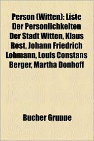 Person (Witten) - B Cher Gruppe (Editor)