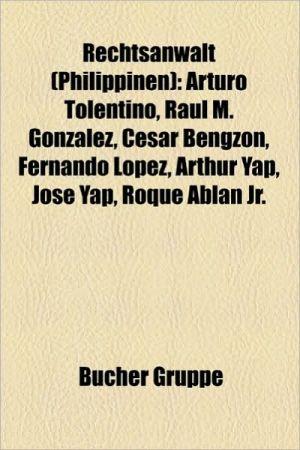 Rechtsanwalt (Philippinen) - B Cher Gruppe (Editor)