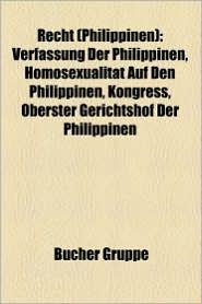 Recht (Philippinen) - B Cher Gruppe (Editor)