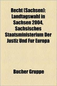 Recht (Sachsen) - B Cher Gruppe (Editor)