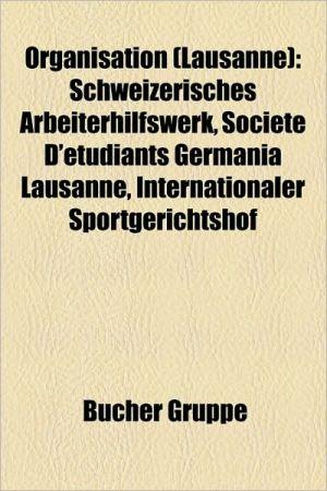 Organisation (Lausanne) - B Cher Gruppe (Editor)