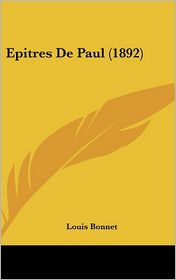 Epitres de Paul (1892)