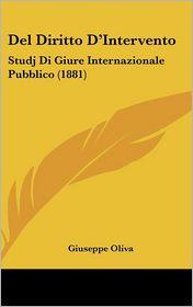 Del Diritto D'Intervento - Giuseppe Oliva