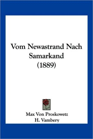 Vom Newastrand Nach Samarkand (1889)