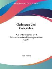 Cladoceren Und Copepoden - Sven Ekman (editor)