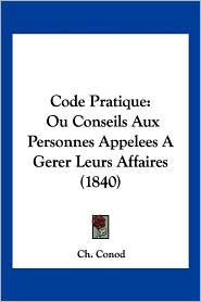 Code Pratique - Ch. Conod