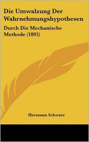 Die Umwalzung Der Wahrnehmungshypothesen: Durch Die Mechanische Methode (1895) - Hermann Schwarz