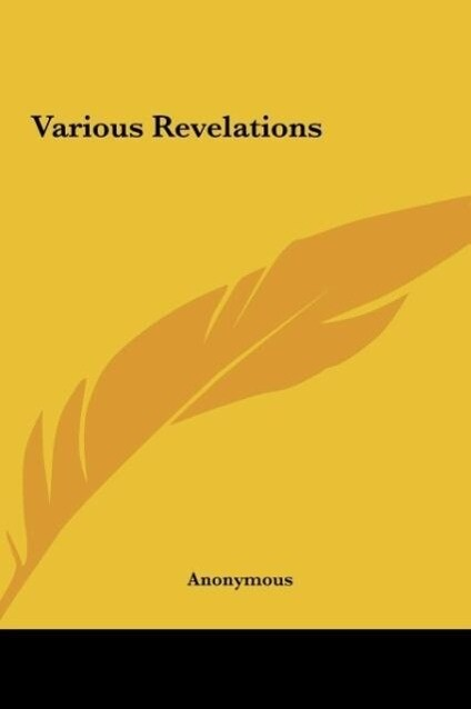 Various Revelations als Buch von Anonymous - Anonymous