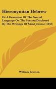 Beeston, William: Hieronymian Hebrew