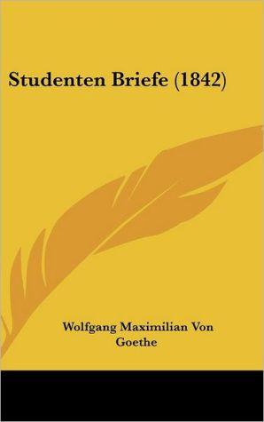 Studenten Briefe (1842)