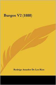 Burgos V2 (1888) - Rodrigo Amador De Los Rios