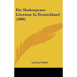 Die Shakespeare-Literatur in Deutschland (1880) - Unknown
