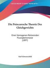 Die Poincaresche Theorie Des Gleichgewichts - Karl Schwarzschild